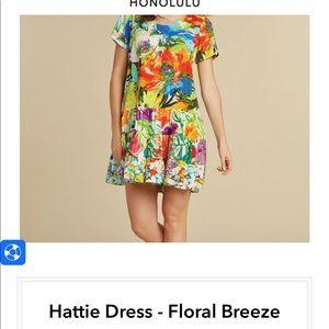 "Jams world Honolulu large rayon ""Hattie"" dress"